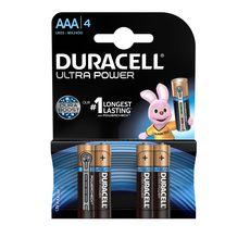 DURACELL Lot de 4 Piles Alcalines type LR03 (AAA) - 1.5V
