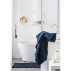 TODAY Tapis de bain uni en polyester 1500G/M²  BUBBLE (Bleu)