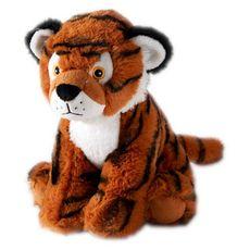 One Two Fun Animal en peluche 100% recyclé 22 cm Tigre 1 pièce