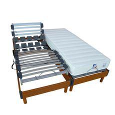 Lit relaxation électrique TPR LOMBATONIC 180x200cm