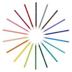 BIC Boite de 18 crayons de couleur Kids Tropicolors