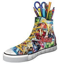 RAVENSBURGER Puzzle 3D Sneaker Marvel Avengers 108 pièces