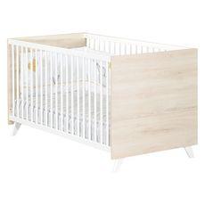 BABY PRICE  Lit bébé évolutif Little Big Bed 140x70cm SCANDI coloris naturel