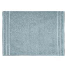 ACTUEL Tapis de bain uni en coton éponge tissé 1000 gr/m2  (Bleu clair)