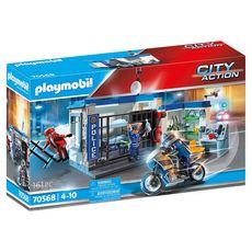 PLAYMOBIL 70568 - City Action - Police Poste de police et cambrioleur