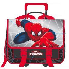 Cartable à roulettes Spiderman 38 cm
