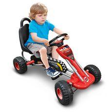 STAMP Kart à pédales rouge 89 x 52 cm - Cars
