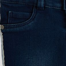 IN EXTENSO Jean slim avec bandes colorées bébé fille (Bleu)