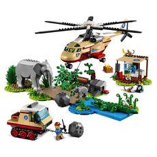 LEGO City Wildlife 60302 L'opération de sauvetage des animaux sauvages dès 6 ans