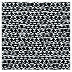 ACTUEL Serviettes en papier décorées 33cm 3 plis gris bohémian x20 20 serviettes