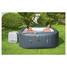 BESTWAY Spa gonflable carré 4-6 places Hawaii Hydrojet Pro