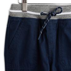 IN EXTENSO Pantalon twill garçon (Bleu marine )