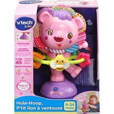 VTECH Hula-Hoop - P'tit lion à ventouse rose