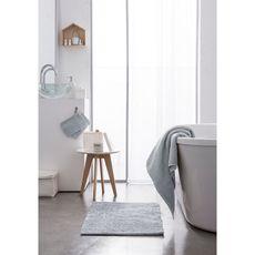 TODAY Tapis de bain uni en polyester 1500G/M²  BUBBLE (Gris clair)