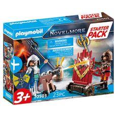PLAYMOBIL 70503 - Novelmore - Starter Pack Chevaliers Novelmore