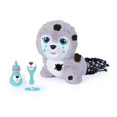IMC TOYS Peluche interactive Silver mon bébé phoque