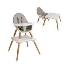 NANIA Chaise haute 2 en 1 EVA évolutive – à partir de 6 mois