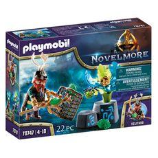 PLAYMOBIL 70747 - Novelmore - Violet Vale - Magicien des plantes