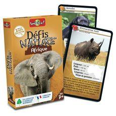 BIOVIVA Défis Nature Afrique 36 cartes collector 1 jeu