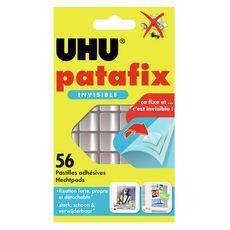 UHU Patafix invisible 56 pastilles découpées