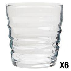 BORMIOLI ROCCO Set de 6 verres à eau RIFLESSI ACQUA