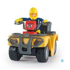 SMOBY Quad Mercure + Figurine Sam - Sam le Pompier
