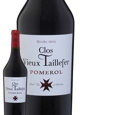 Clos Vieux Taillefer Pomerol Rouge 2012