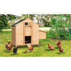 Jardikt Poulailler chalet 8-12 poules avec pondoir