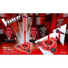 LANSAY Micro sur pied The Voice
