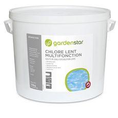 GARDENSTAR Chlore lent multifonction 10 kg