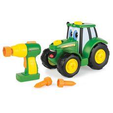 TOMY Tracteur Je construis mon Johnny