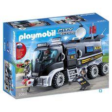 PLAYMOBIL 9360 - City Action - Camion des policiers d'élite sirène