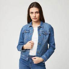 IN EXTENSO Veste en jean femme (Stone)