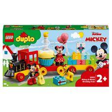 LEGO DUPLO DUPLO Disney 10941 Le train d'anniversaire de Mickey et Minnie