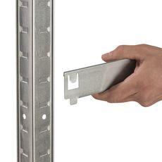 AVASCO Établi acier Strong Work 5 tablettes - 186x100x60/30 cm