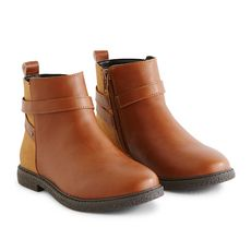 IN EXTENSO Boots fille du 24 au 35 (Beige camel)
