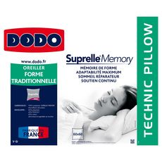 DODO Oreiller DODO SUPRELLE MEMORY 450 g (Blanc)