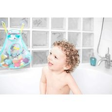BADABULLE Filet de bain pour jouets bébé thème montagne