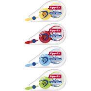 Rubans correcteurs 6 m x 5 m rouge/vert/bleu/jaune MINI POCKET MOUSE (lot de 3)
