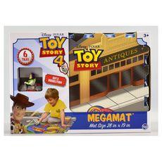 Méga tapis Toy Story avec véhicule et accessoires