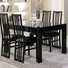 Table de séjour L160cm GENOVA (noir)
