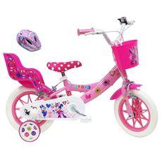MINNIE Vélo 12 pouces - Minnie + Casque de protection