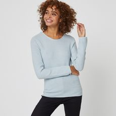 IN EXTENSO Pull femme (Bleu pale)
