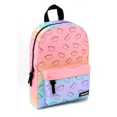Sac à dos 1 compartiment + poche avant junior fille Pusheen See Ya multicolore