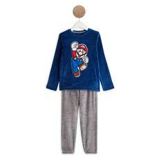 MARIO  Ensemble pyjama peluche garçon