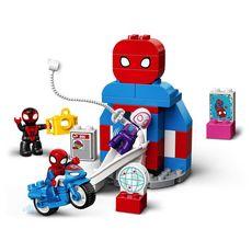 LEGO DUPLO Super Heroes 10940 - Marvel Le QG de Spider-Man dès 2 ans
