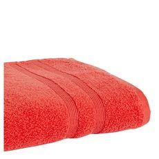 ACTUEL Drap de bain uni en coton 500 g/m² (Orange)