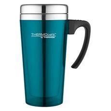 THERMOS Thermos mug de voyage avec anse 420 ml turquoise