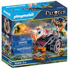 PLAYMOBIL 70415 - Pirates - Canonnier pirate