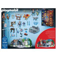 PLAYMOBIL 70187 - Novelmore - Calendrier de l'Avent Duel de chevalier